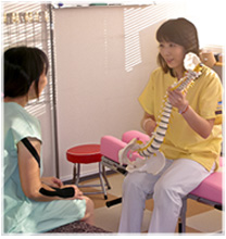健創施術院の女性専用診療室