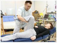 姿勢分析や様々な検査結果データーを元に施術